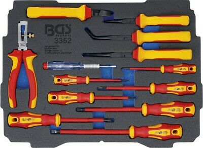 BGS Foam Inlay For Item BOXSYS1 & 2: Vde-Plier Screwdriver Set 13-t • 105.67£