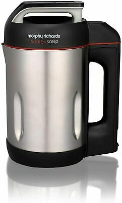Morphy Richards Brushed Stainless Steel Saute And Soup Maker 501014  • 79.99£