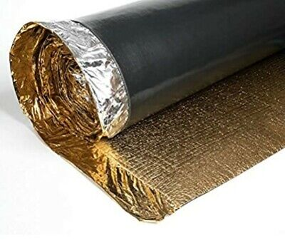 Royale Sonic Gold 5mm Comfort Underlay For Laminate Or Wood Flooring - 1 Roll - • 14.89£