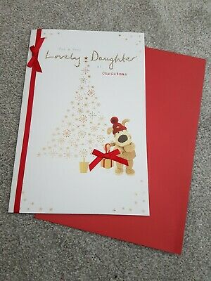Boofle Lovely Daughter Christmas Greeting Card Cute Xmas Cards. Free Postage Inc • 3.75£