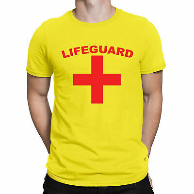 £4.99 • Buy LIFEGUARD Unisex T-Shirt Mens Womens Fancy Dress Party Stag Clearance Sale Tee