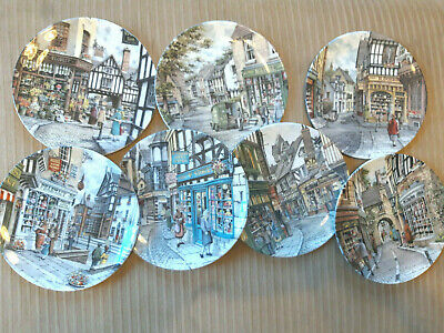 Royal Doulton 'Window Shopping' Collector's Plates, Select Your Plate • 3.50£