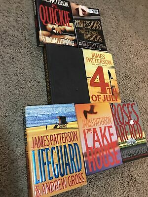 £3.38 • Buy 🔥3 Book Lot James Patterson Hardcovers Lifeguard Lake House Roses Are Red 🌹