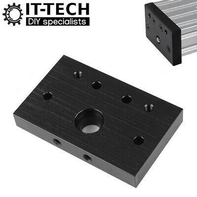 £6.29 • Buy End Mount Plate For V Slot C-Beam 4080 Actuator Extrusion Profile CNC OpenBuilds