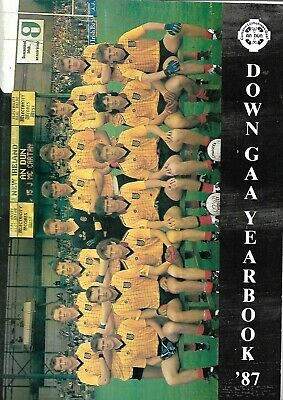GAA County Down  Yearbook  1987 • 5£