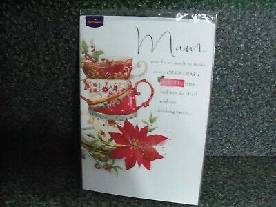 Hallmark Lucy Cromwell Christmas Card For Mum • 2.40£