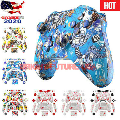 $17.95 • Buy Full Housing Shell Case Cover Buttons Custom Mod Kit For Xbox One S Controller