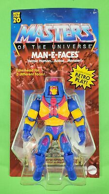 $29.95 • Buy Masters Of The Universe (motu) Origins Man E Faces Unpunched (in Hand) Hot! 🔥