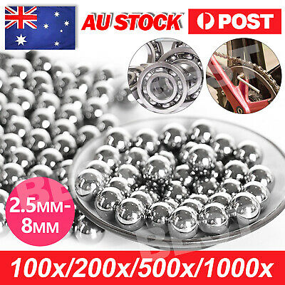 AU5.95 • Buy Steel Loose Bearing Ball 2.5-8mm Replacement Parts Bike Bicycle Cycling AU