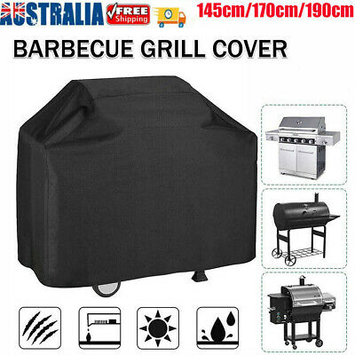 AU22.99 • Buy Waterproof BBQ Cover 2/4/6 Burner Outdoor Gas Charcoal Barbecue Grill Protector