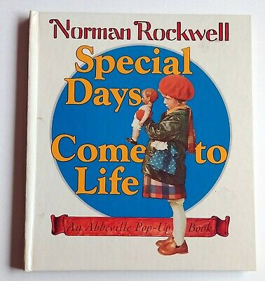 $ CDN31.84 • Buy Norman Rockwell SPECIAL DAYS COME TO LIFE Pop-up, Moveable 1987