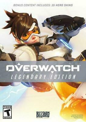 AU30.99 • Buy Overwatch [ Legendary Edition ] (PC / DVD-ROM) OPENED BOX