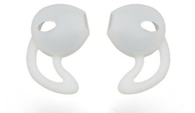 AU14.05 • Buy 1 Pair -2 Pcs In-ear Durable Soft Clear Silicone Holder/cover Hook Apple Airpods