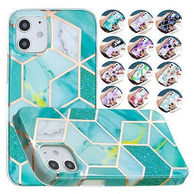 AU15.63 • Buy For IPhone 12 Pro 11 XR XS Max 6 7 8+Glitter Plating Pattern Soft TPU Case Cover