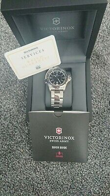 Mens Victorinox Swiss Army Night Vision Stainless Steel Watch • 400£