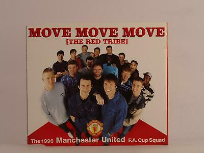 MOVE MOVE MOVE (MANCHESTER UNITED) RED TRIBE (K83) 3 Track CD Single Picture Sle • 2.46£