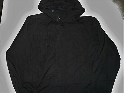 Men's Timberland Waterproof Lightweight Black Hooded Jacket Size Small P2p 21  • 22.99£