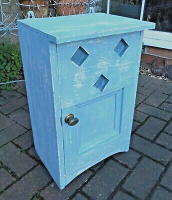 Small Painted Pine Cupboard~wall / Freestanding~bathroom~kitchen~bedside • 35£