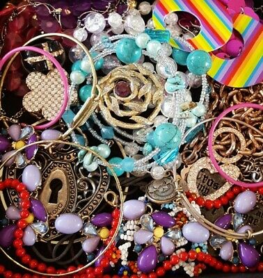 $ CDN25.53 • Buy Vintage Now Unsearched Untested Junk Drawer Jewelry Lot Estate All Wear L702