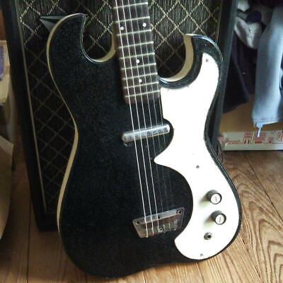 $ CDN1898.99 • Buy Silvertone Vintage Electric Guitar Made In USA W/Non Original Soft Case F/S