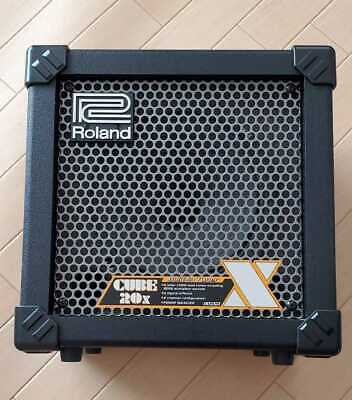 AU312.90 • Buy Roland CUBE-20X ??Guitar Amplifier 20 Watt Combo Amp Used Good Working Japan