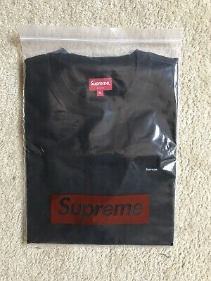 $ CDN114.17 • Buy Supreme Small Box Logo Tee Black Size XL SS20 In Hand Ready To Ship BRAND NEW