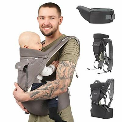 Sweety Fox - Multi-Position Baby Carrier With Hip Seat - For Babies & Child From • 41.99£