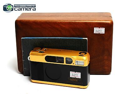 $ CDN2054.03 • Buy Contax T2 Film P&S Camera 60 Years Limited Gold Edition *EX+*