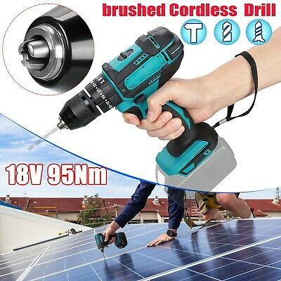 FOR MAKITA DHP483Z 95NM 18V LXT BRUSHED IMPACT  Cordless DRILL DRIVER BODY • 27.29£