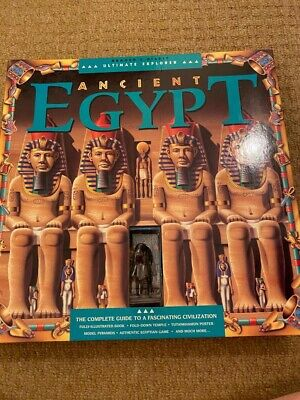 £3.50 • Buy Readers Digest Ancient Egypt Pop Up With Figures