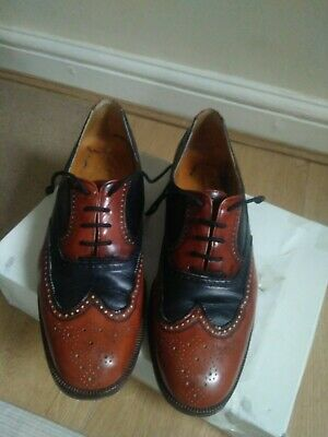 Men Brouges - Two Tone Spats - Size 9 - Used But Newly Re-soled. • 40£