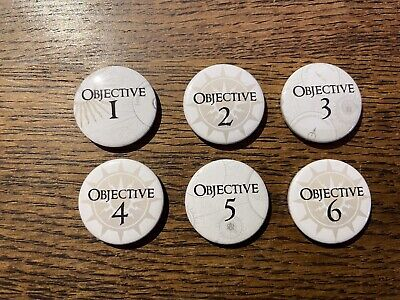 £4.50 • Buy Warhammer Age Of Sigmar Wargaming Objective Marker Tokens