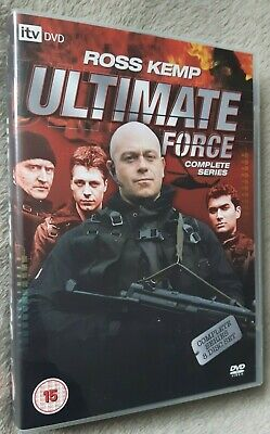 ULTIMATE FORCE The Complete Collection, Series 1-4, Ross Kemp, UK REGION 2 DVD • 12.99£