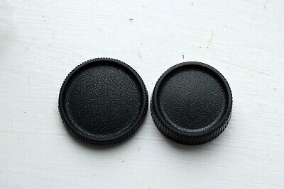 Genuine Contax/Yashica Body Cap And Rear Lens Cap • 7.99£