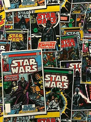 £5.50 • Buy Star Wars Comic Books Posters Fabric Official 112cm Wide 100% Cotton