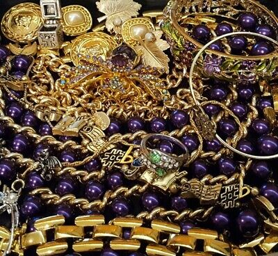 $ CDN55.52 • Buy Vintage Now Unsearched Untested NOT Junk Drawer Jewelry Lot Estate All Wear L709