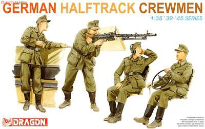Dragon 6193 1/35 German Half-Track Crewman 1939-1945 (4 Figures) • 12.98£