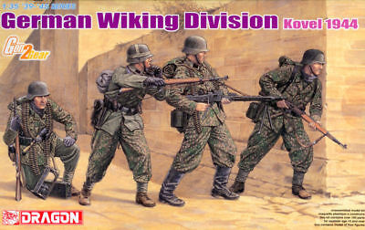 Dragon 6519 1/35 German Wiking Division Kovel 1944 (4 Figures Set) • 14£