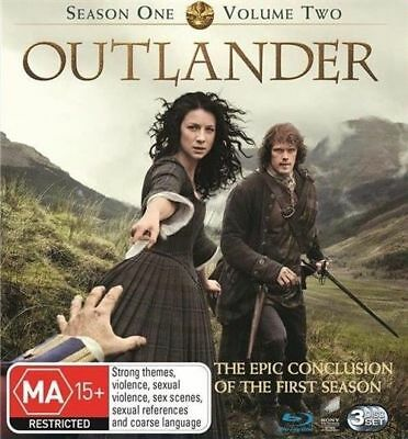 AU39.89 • Buy Outlander: Season 1 - Volume 2 Blu-ray NEW