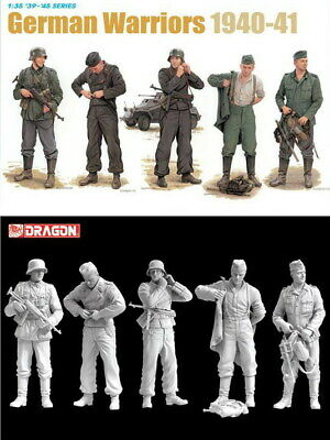 Dragon 6574 1/35 GERMAN WARRIORS 1940-41 • 14.50£