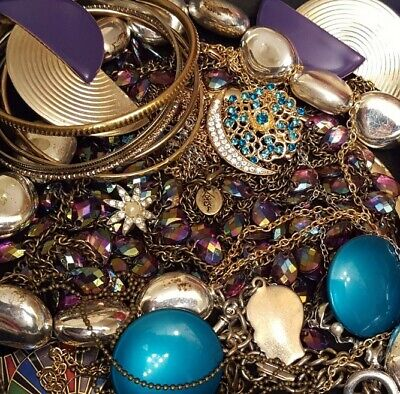 $ CDN29.97 • Buy Vintage Now Unsearched Untested Junk Drawer Jewelry Lot Estate All Wear L711