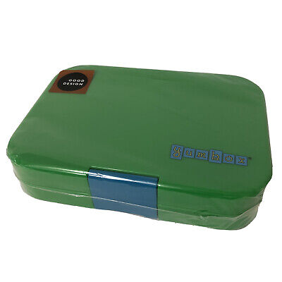AU26.10 • Buy Yumbox Leakproof Bento Style School Lunch Snacks Box Container Green Blue NEW