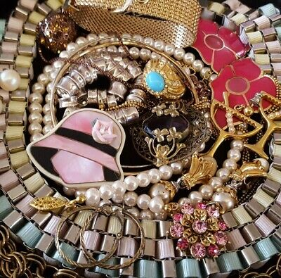 $ CDN52.25 • Buy Vintage Now Unsearched Untested NOT Junk Drawer Jewelry Lot Estate All Wear L712