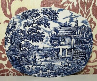 £10 • Buy Vintage The Hunter - By Myott - Hand Engraved Permanent Colours Plate