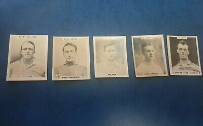 Godfrey Phillips Pinnace Football Cards 1922~r.w. Williams Casuals #1989~f/post • 9.99£