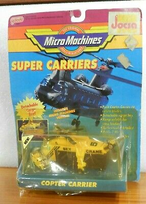 £38.94 • Buy Micro Machines Super Carriers Copter Carrier Galoob 1990 Mint