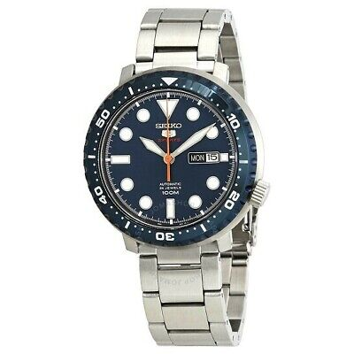 $ CDN179 • Buy Seiko 5 Automatic, Blue Dial SRPC63, Bottle Cap