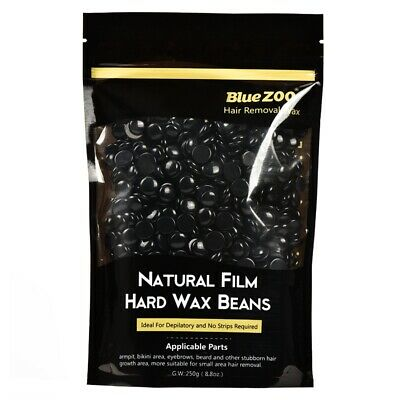 BlueZOO 250g Depilatory Hot Film Hard Wax Beans Pellet Waxing Bikini Hair R Q8W3 • 6.64£