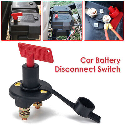 200A Car Battery Disconnect Switch Cut Off Switch Isolator With Dust Cover  • 6.17£