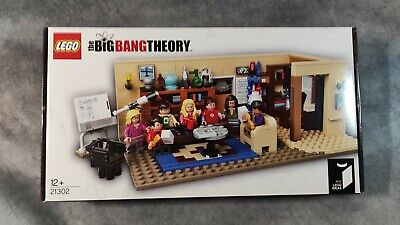 LEGO 21302 The Big Bang Theory - Brand New In Sealed Box, Free Tracked Delivery • 150£